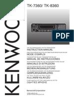 Manual Tk 7360 Kenwood