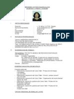 Curriculum de Mercedes Galeon