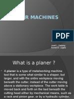 20640503 Planer Machine Ppt