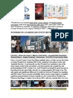 WonderCon Anaheim 2015 Event Review By David L. $Money Train$ Watts & Auggie Cavanagh - FuTurXTV & Funk Gumbo Radio - 5-25-2015