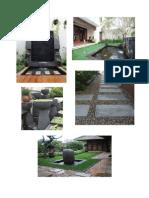 Contoh Taman Air Halaman Belakang Dan Depan Rumah