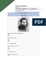 A Vida de Antonio Gramsci