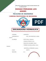 Monografia de Caminos 2...Excavadora Hidraulica