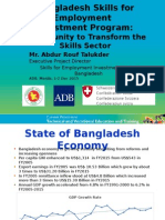 Bangladesh Skills for Employment  Investment Program