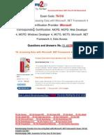 [FREE]Braindump2go Latest 70-516 VCE Guarantee 100% Pass 31-40