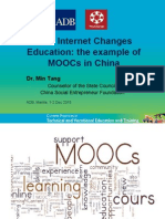 How Internet Changes Education
