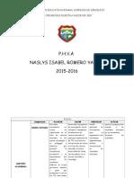 phva naslys romero yanez 2015 - 2016