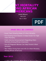 Infant Mortality Among African Americans.pptx