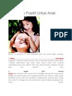 Pola Asuh Positif Untuk Anak