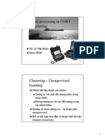 3.2 Data Mining - Clustering