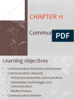 Lecture 6 (Chapter 11 Communication)