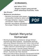 Role of Asia Komanwel