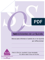 Manual Para Enfrentar El Suicidio de Un Ser Queridooo