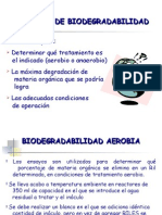 G Biodegradabilidad