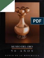 Museo Del Oro 50 Anos