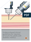 Evidence-based Clinical Guidelines for Injection