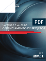 PMI Set2015 - Capturando o Valor Do Gerenciamento de Projetos