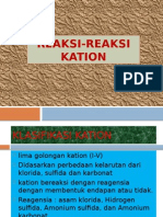 KATION golongan 1