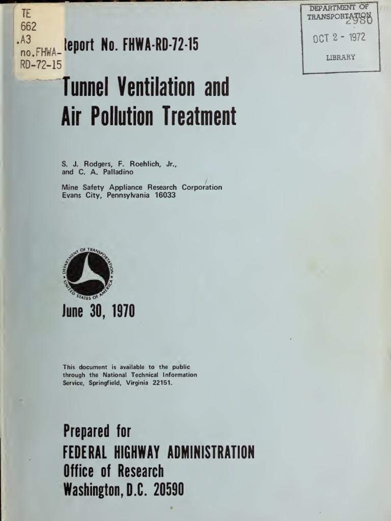 Tunnel Venti Latio 00 Rod G Exhaust Gas