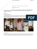 Report on Vintage Kidswear in Buenos Aires for WGSN