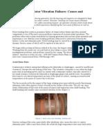 Steam Turbine Rotor Vibration Failures