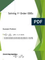 Solving 1st Order ODEs in General (1)