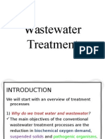 Treatment Methods for Wastewater