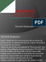 Empresa de Seguridad Rootnit Android Malware