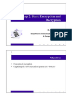 Basic Encryption and Decryption