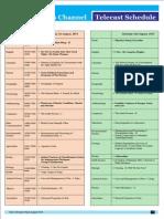 VYAS Schedule