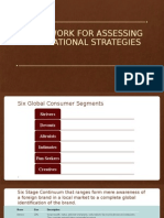 Framework for Assessing Multinational Strategies