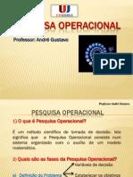 Pesquisa Operacional - Slide