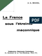 La France Sous l Etreinte Maconnique