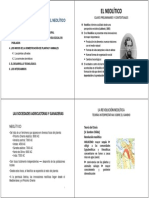 Tema 1.-El Surgimiento de La Domesticacion Recordando Conceptos