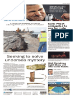 Asbury Park Press front page, Saturday, December 12, 2015