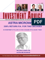 Stock Investment adviser for Indian Stock Markets November 2015 Edition
