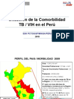 10. Situación de La Comorbilidad TB VIH en Perú 2010