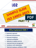 ISO 14001 Training Presentation
