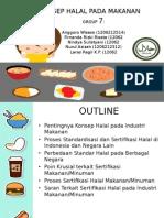 PPT Teknologi Pangan- Halal Kelompok Anggoro