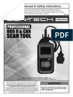 Cen-Tech (Harbor Freight) Scan Tool - 62120