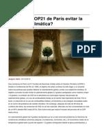 Sinpermiso-puede La Cop21 de Paris Evitar La Catastrofe Climatica-2015!12!06