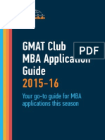 GMATClub MBA Application Guide 2015