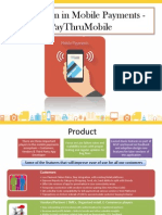 Mobile Payments - Go-To-Market Strategy