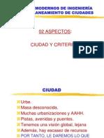 Criterios Modernos de Planificacion City Planning Piura (Planificacion de Sitio)