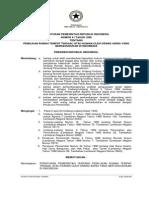Peraturan Pemerintah Nomor 41 Tahun 1996