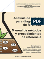 Manual Analisis de Suelos Para Diagnostico de Fertilidad