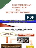 Pemilihan Pemeriksaan Penunjang pada MCU dan kriteria fit to work2.ppt