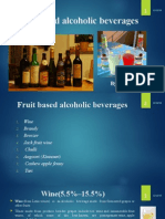 Fruit Based Alcoholic Beverages