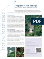MRes in Tropical Forest Ecology