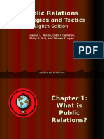 Public Relations and Strategies and Tactics Eighth Edition Public Relations 1